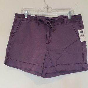 NWT Purple Gap Shorts